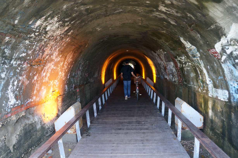 没有星光的星光隧道