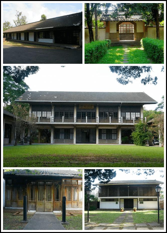东海大学的日式建筑
