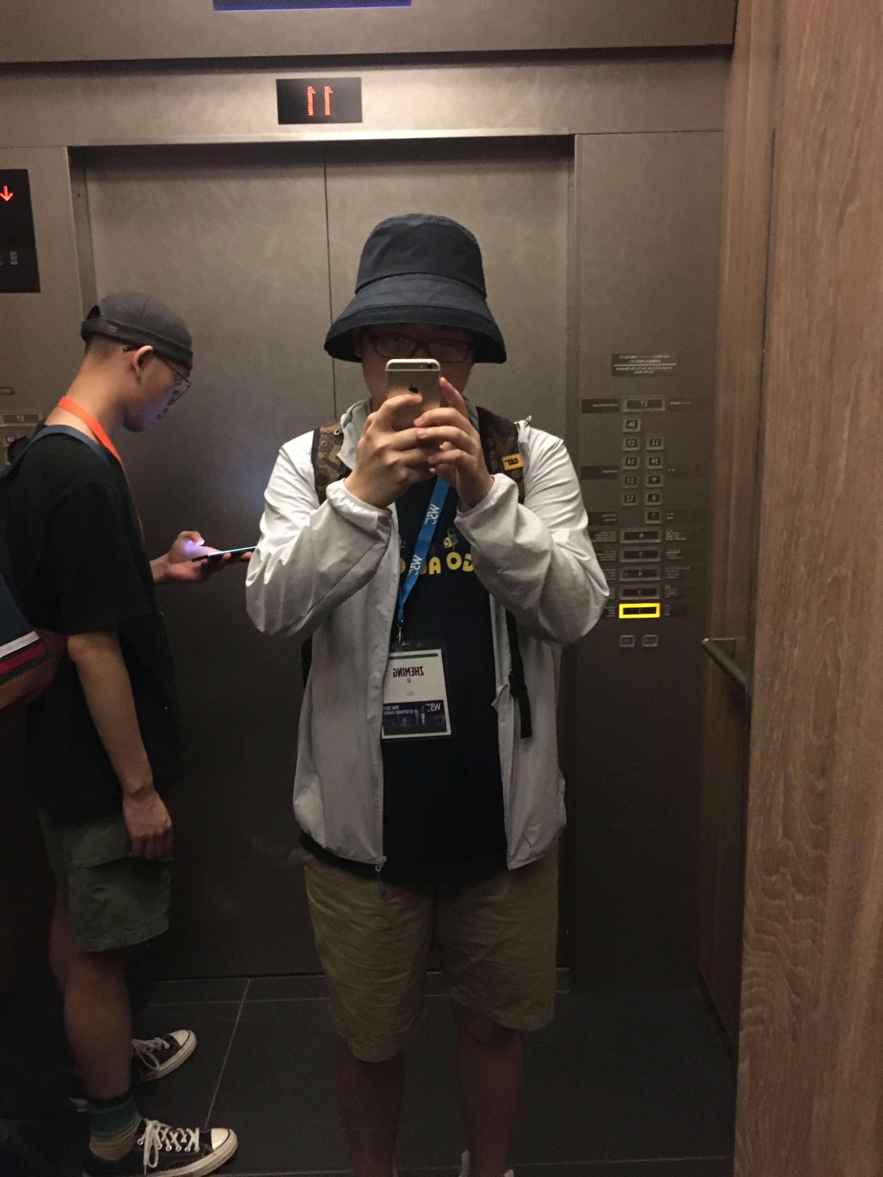 心水的帽子